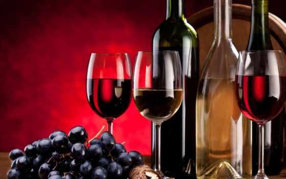 вино, красное, белое, использование, бокалы, виноград, вред,