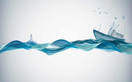 sound, waves, you, можно, лодка,
