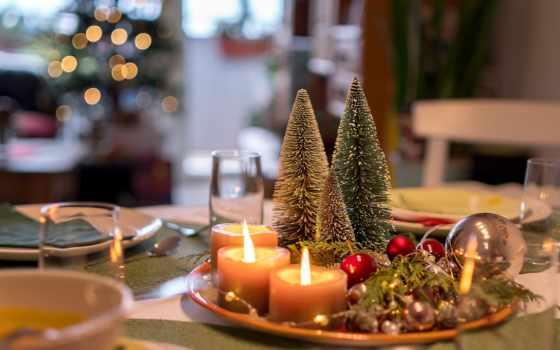 ,, Рождество, свеча, освещение, рождественские украшения, сочельник, интерьер, предмет,, дерево, ресторан,