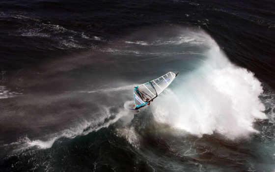 волны, океан