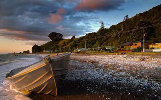 море, лодка, landscape Фон № 66350 разрешение 1920x1200