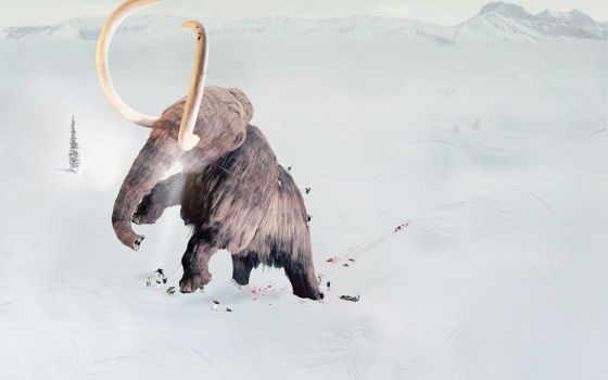 mammoth, лед, age