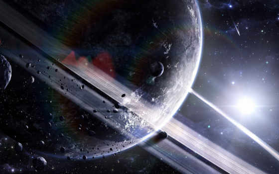 сатурн, cosmos, planet Фон № 142173 разрешение 2560x1440
