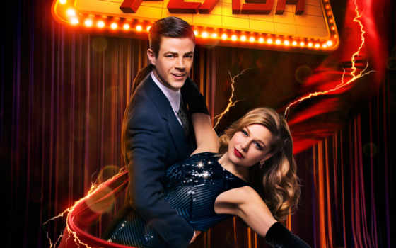 flash, season, серия, online, серий, смотреть, сезона, дуэт, плакат, supergirl,