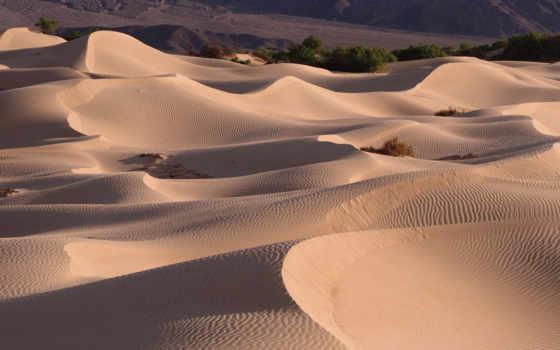 пустыня, песок, barhan, природа, dune