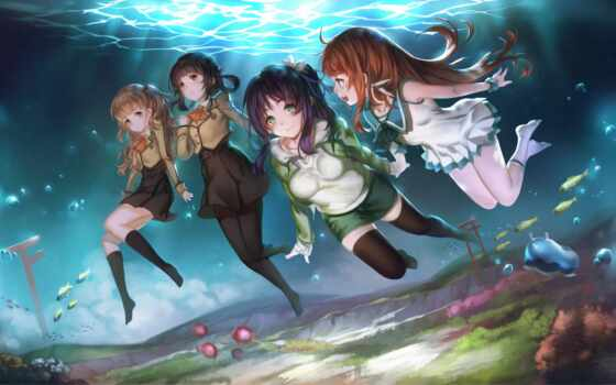 anime, nagi, asukara, art, tomorrow, коллекция, bezoblachnyi
