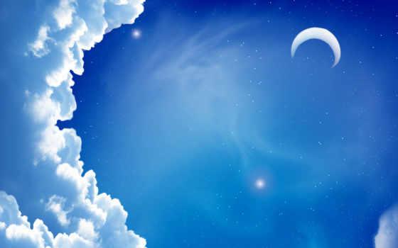 небо луна