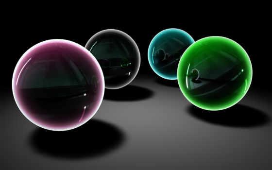 cam, duvar, küreler, kağıdı, шары, сферы,