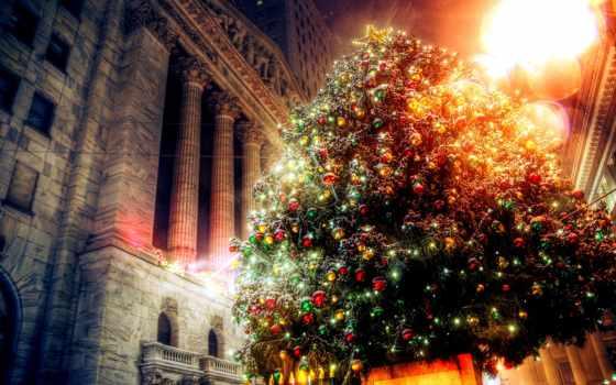 christmas, дерево, am