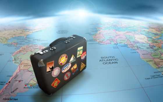 чемодан, путешествие, стран, глобус, карта, если, туристов, cart, быть, может, сделать, пользу, выбор, доступным, европе, отдых, восемь, континента, востоке,