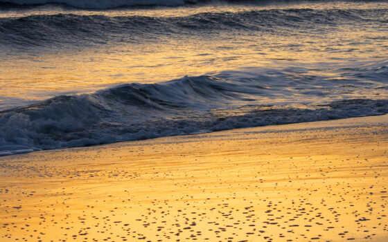 море, фотообои, волна, ocean, закат, marine, fahey, john, ekologichnost, printcolor, песок