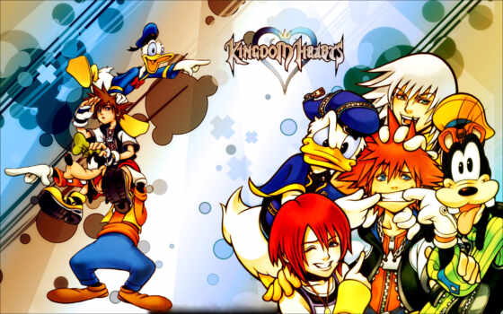 wallpapers, wallpaper, hd, скачать, and, from, video, game, anime, kingdom, what, series, manga, hearts, sora, donald,