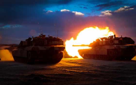 абрамс, танки, оружие, usa, shot, выстрел, танк,