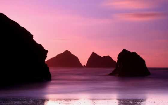 bay, holywell, ipad, air, purple, pure, ilikewallpaper, cornwall,