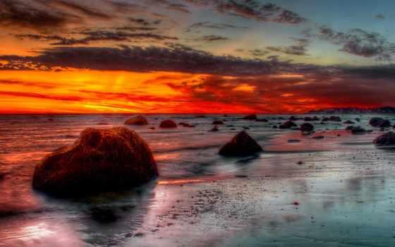 hdr, море, прилив, romania, камни, берег, desktop,