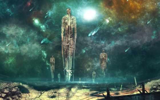 cosmos, comet, planet, art, остов, nanora, nishio, фантастика, fantasy, nebula,