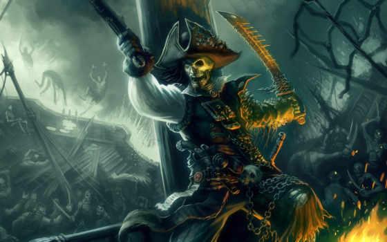 пират, рисунок