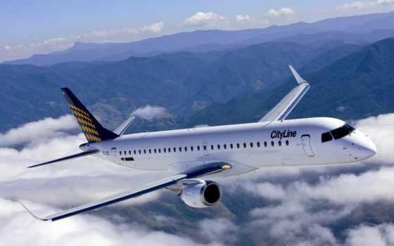 лайнер, самолёт Фон № 21228 разрешение 2560x1600