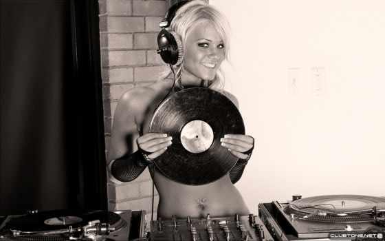 women, blondes, headphones, models, girls, музыка,