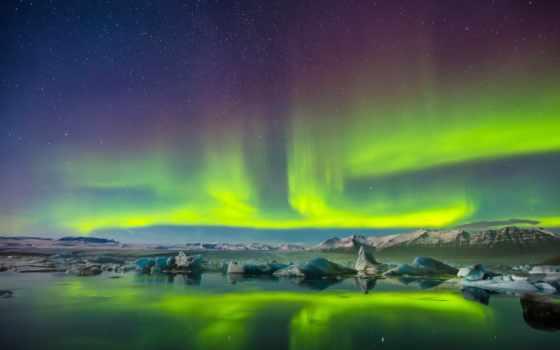aurora, borealis, covers, огни, northern, cover,