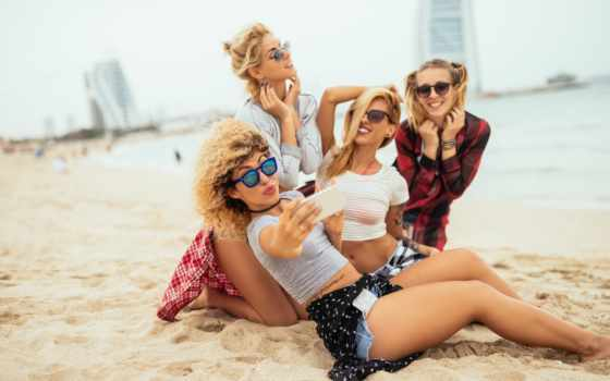 girls, blonde, пляж, сторона, фото, pictures, песок, девушка, ночь, улыбка,