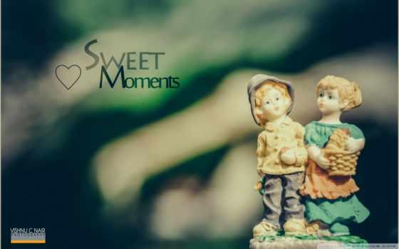статуи, сувенир, надпись, любовь