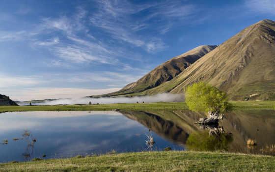 scenery, desktop, озеро