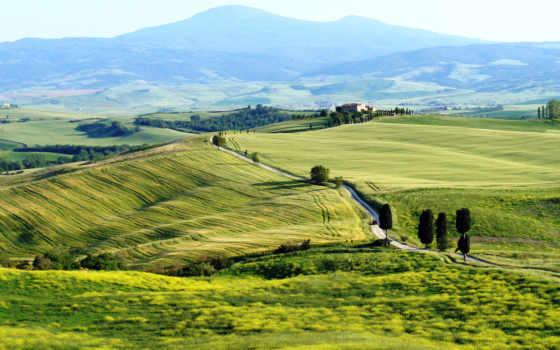 tuscany, italian, italy, пьенца, toscana, природа, pienza,