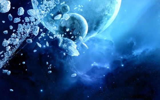 планеты, столкновение Фон № 24891 разрешение 1920x1200