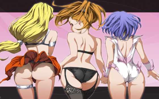аниме, эротика, девушки