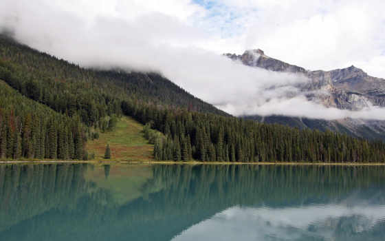 горное озеро Фон № 49491 разрешение 2560x1024