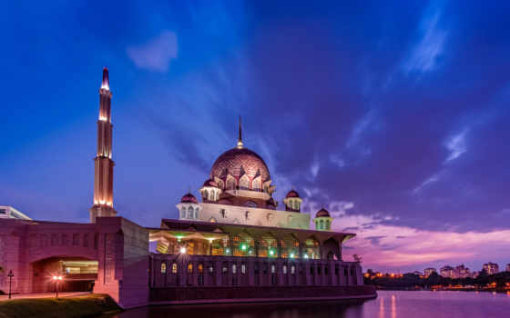 malaysia, putrajaya, закат