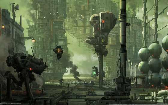 игры, hawken, роботов