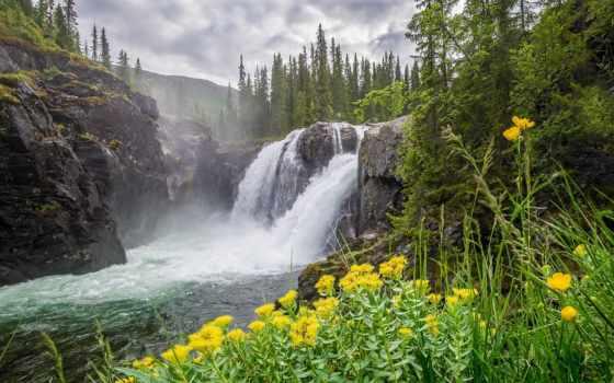 jungle, desktop, водопад, природа, goodfon, река, водопады, дневник, tumblr,