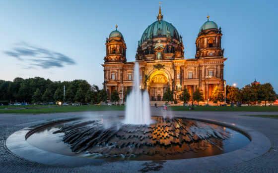 berlin, cathedral, berliner, dom, берлине, німеччина,