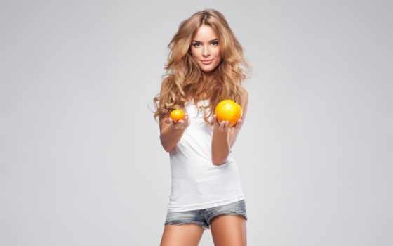 monika, ordowska, oranges, high, resolution, фон, widescreen,