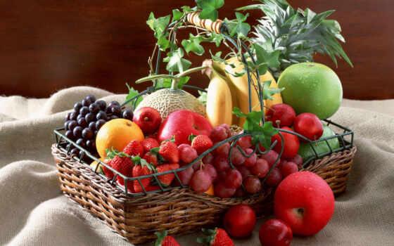 плод, ягода, корзина, растительный, toffi, картинка, увеличить, красивый, сладкое
