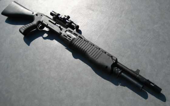 картинку, изображение, оружие, выберите, кнопкой, правой, shotgun, ружьё,