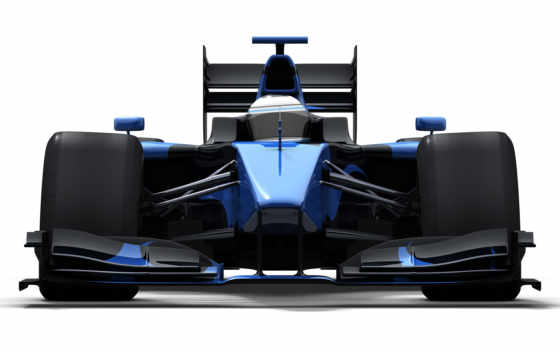 car, race, blue