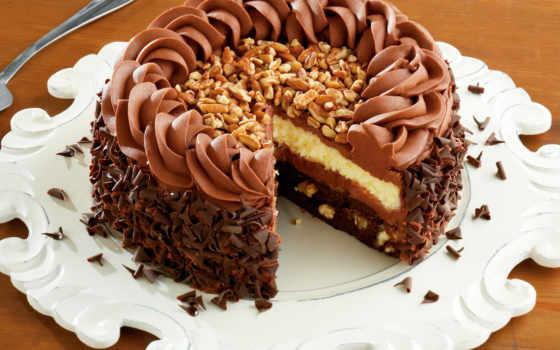 торт, chocolate, глазурь, десерт, candy, еда,