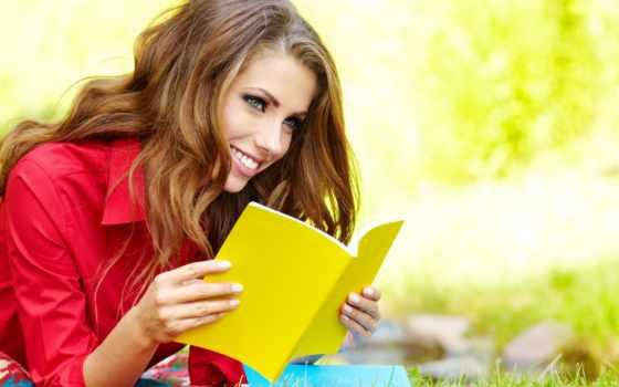 девушка, взгляд, шатенка, улыбка, книги, тетради, красивой, книг, красивые, красивая, стать,
