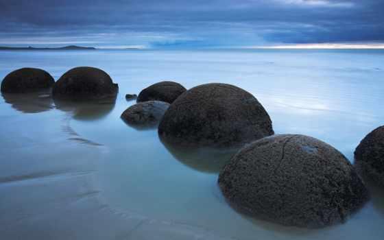 new, zealand, south, остров, moeraki, boulders, пляж, koekohe, pinterest, beaches,