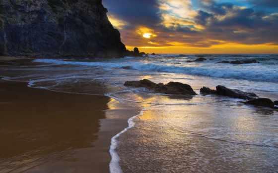 summer, закат, desktop, пляж, images, природа,