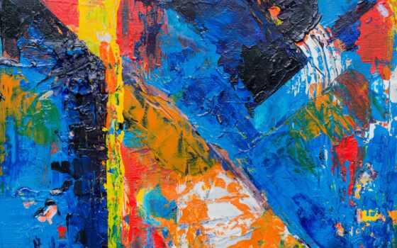 краска, acrylic, canvas, mazkii, текстура, абстракция, multicolored