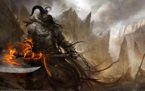 воин, демон