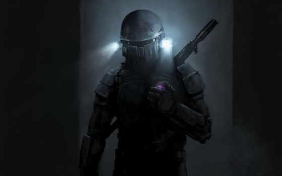 космос, swat, сервис, desktop, star, wars, шлем, фон, scene,