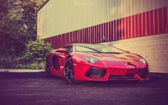 lamborghini, aventador, rosso, efesto, red, pinterest, суперкар, roadster,