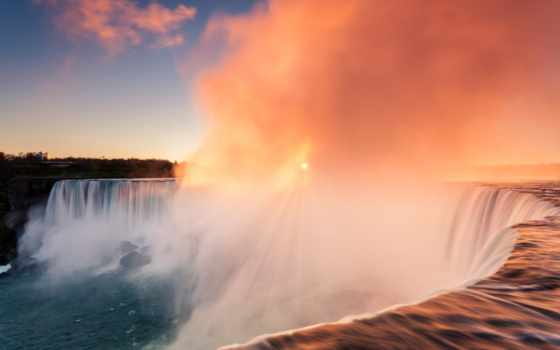 falls, resolution, niagara, high, widescreen, images, free, горы,