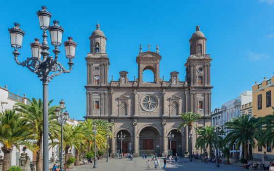 palm, испания, красивый, пляж, burning, cathedral, миро, free