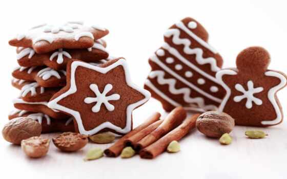 christmas, cooky, png, пряник, cookie, happy